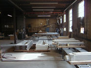 Floor space is available for large castings