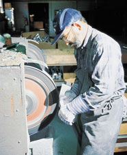 Skilled workers keep tolerances close